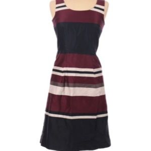 H&M color block dress size medium ,,